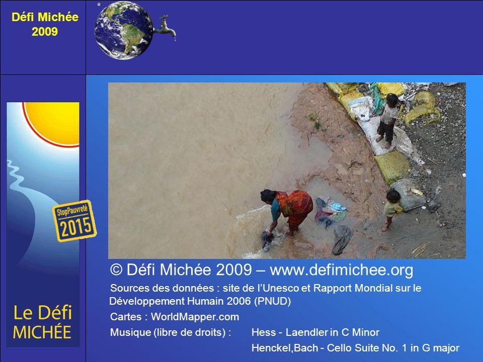 © Défi Michée 2009 – www.defimichee.org