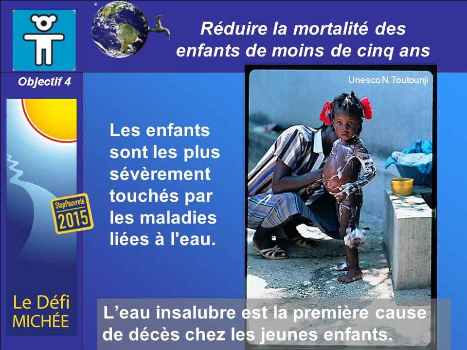 Réduire la mortalité des enfants de moins de cinq ans