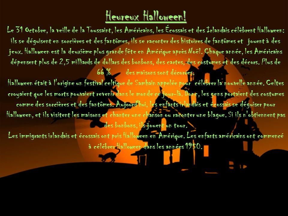 Heureux Halloween.