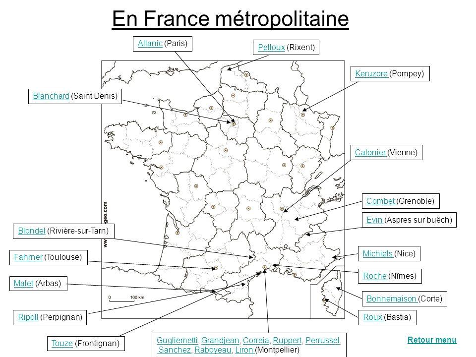 En France métropolitaine