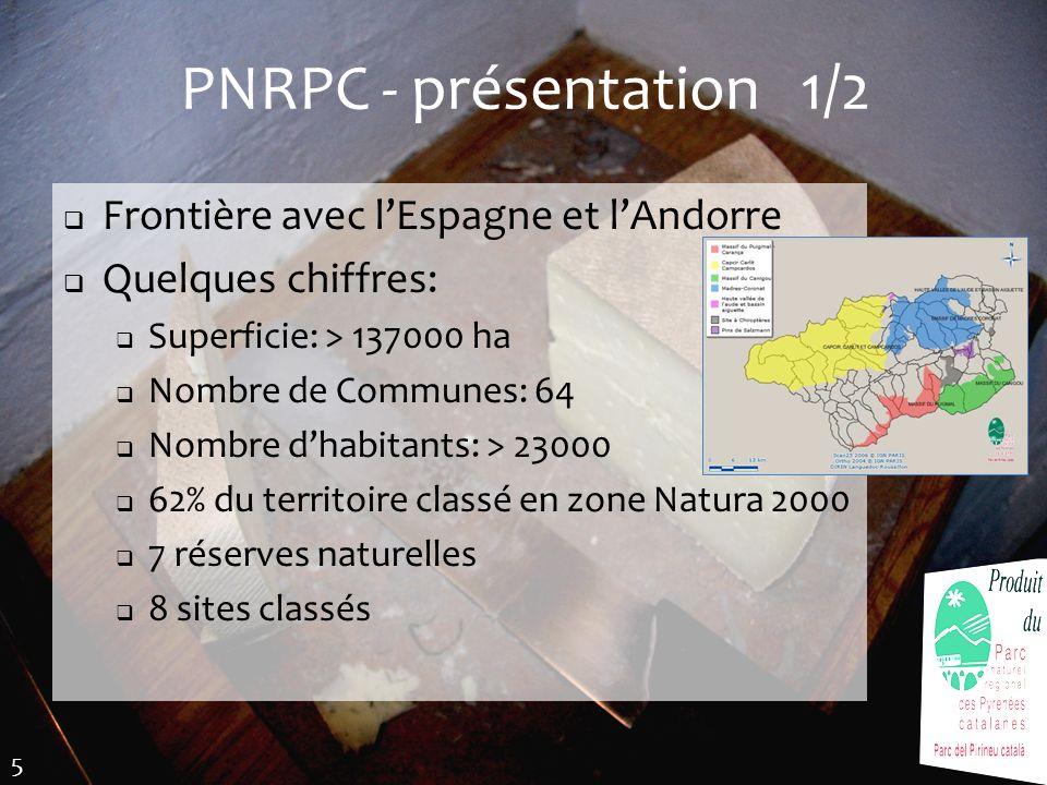 PNRPC - présentation 1/2 Frontière avec l'Espagne et l'Andorre
