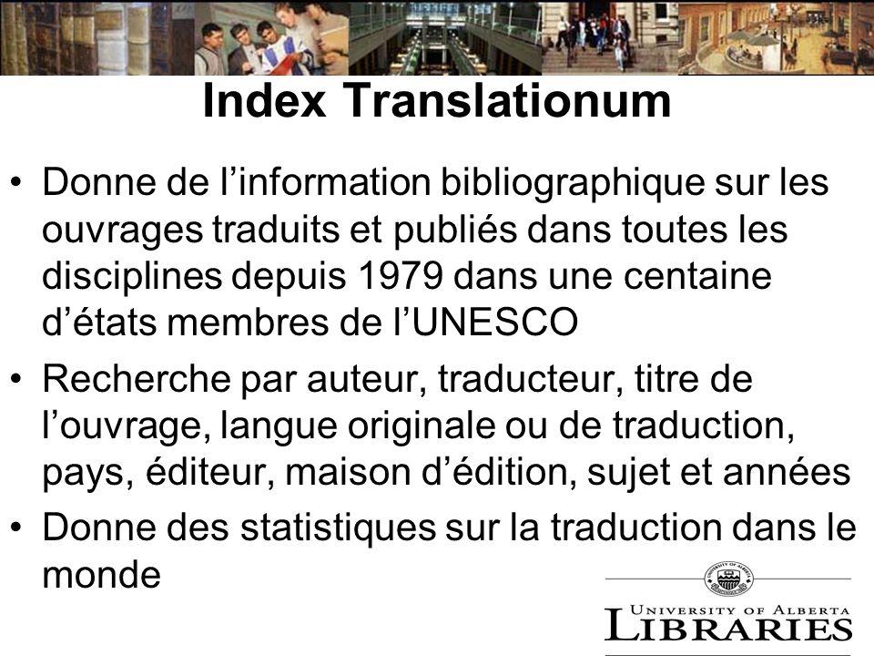 Index Translationum