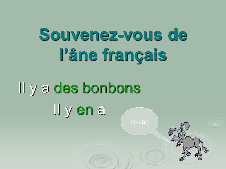 Souvenez-vous de l'âne français