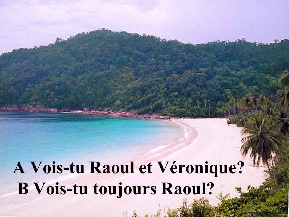A Vois-tu Raoul et Véronique B Vois-tu toujours Raoul