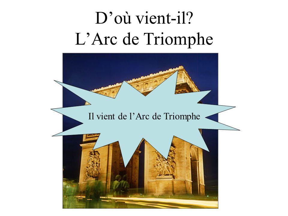 D'où vient-il L'Arc de Triomphe