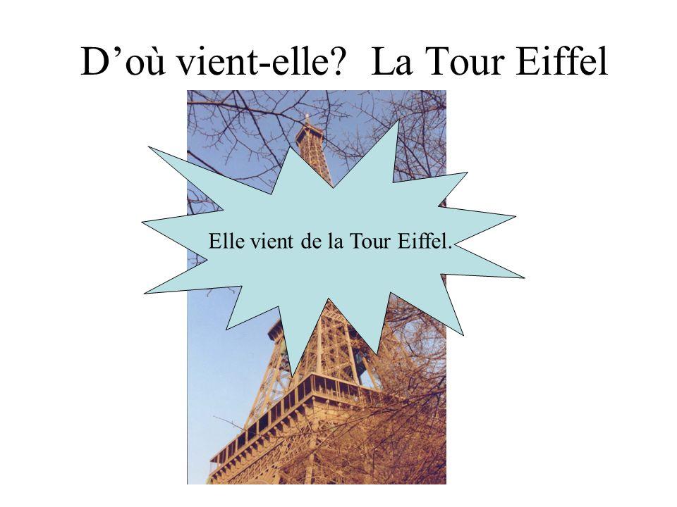 D'où vient-elle La Tour Eiffel