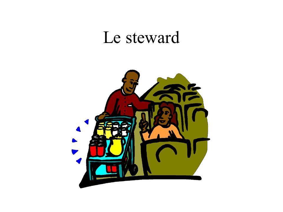 Le steward