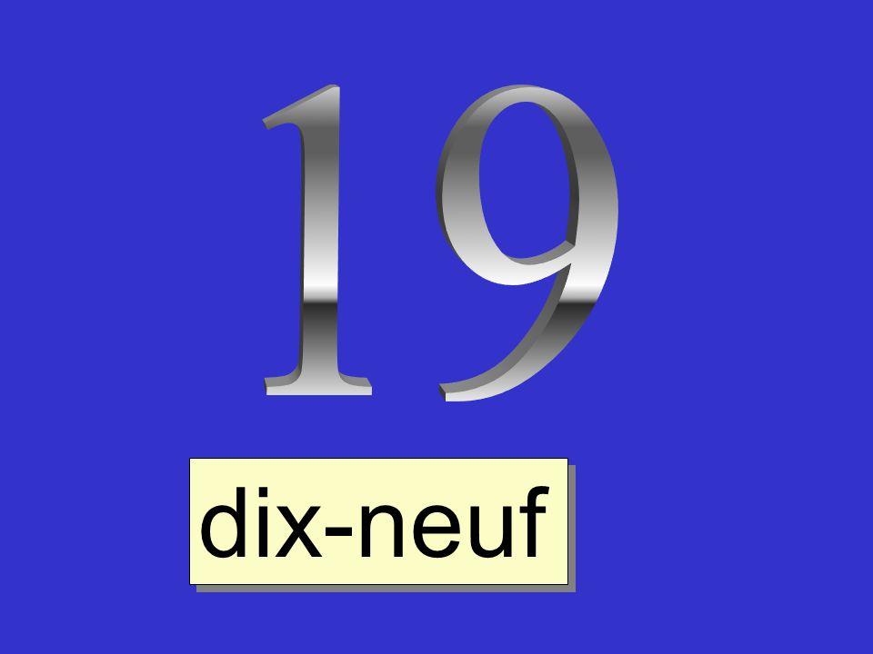 19 dix-neuf