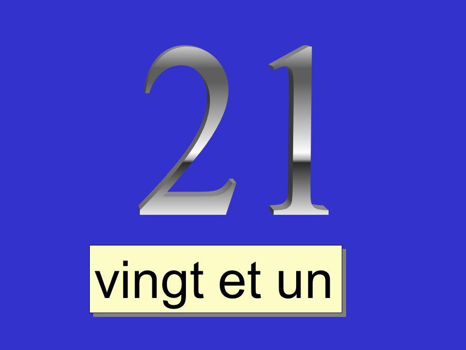 21 vingt et un