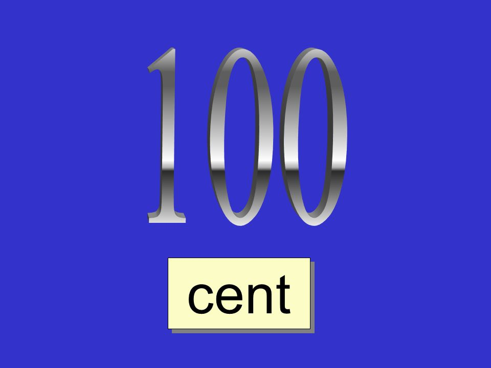 100 cent