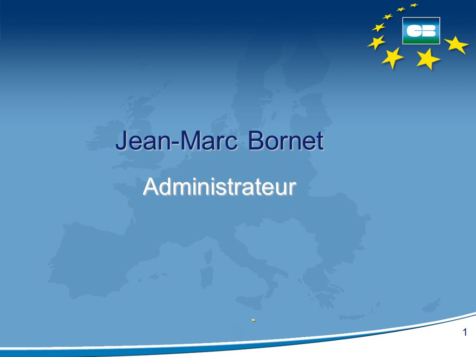 Jean-Marc Bornet Administrateur