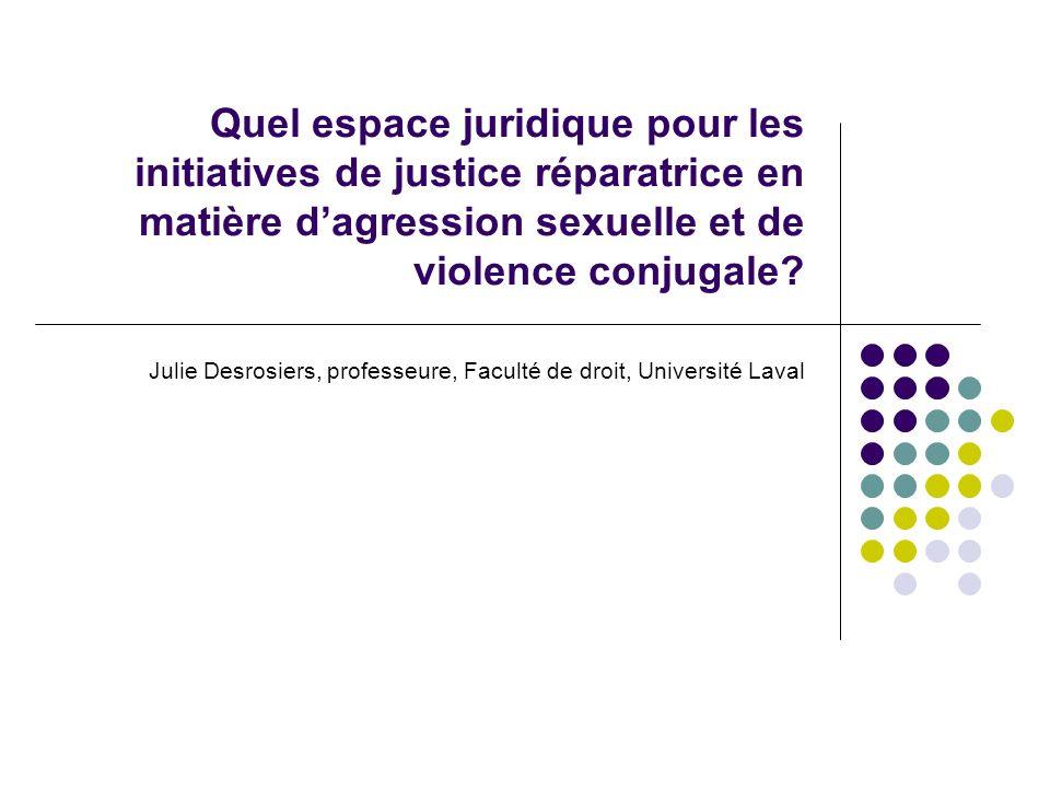 Julie Desrosiers, professeure, Faculté de droit, Université Laval