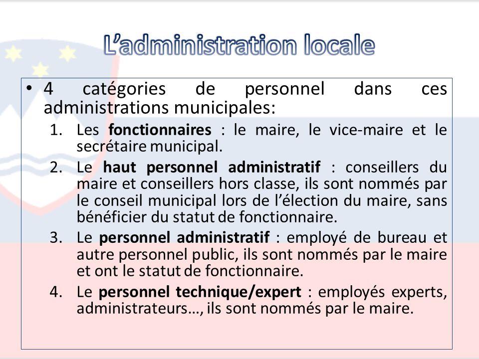 L'administration locale