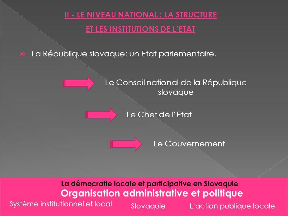 Organisation administrative et politique