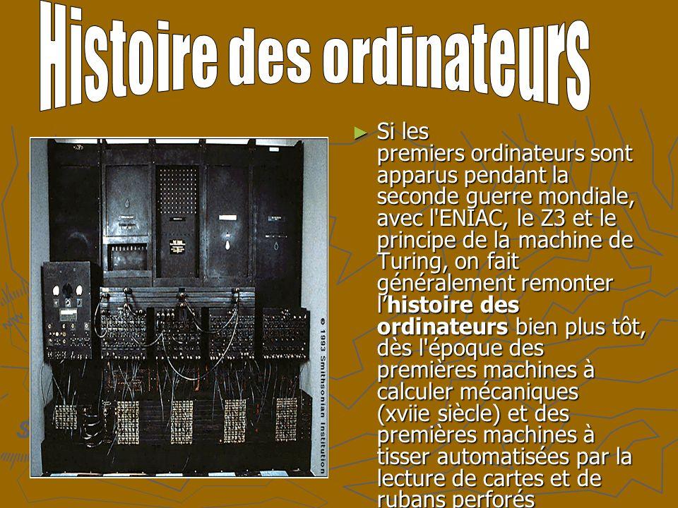 Histoire des ordinateurs