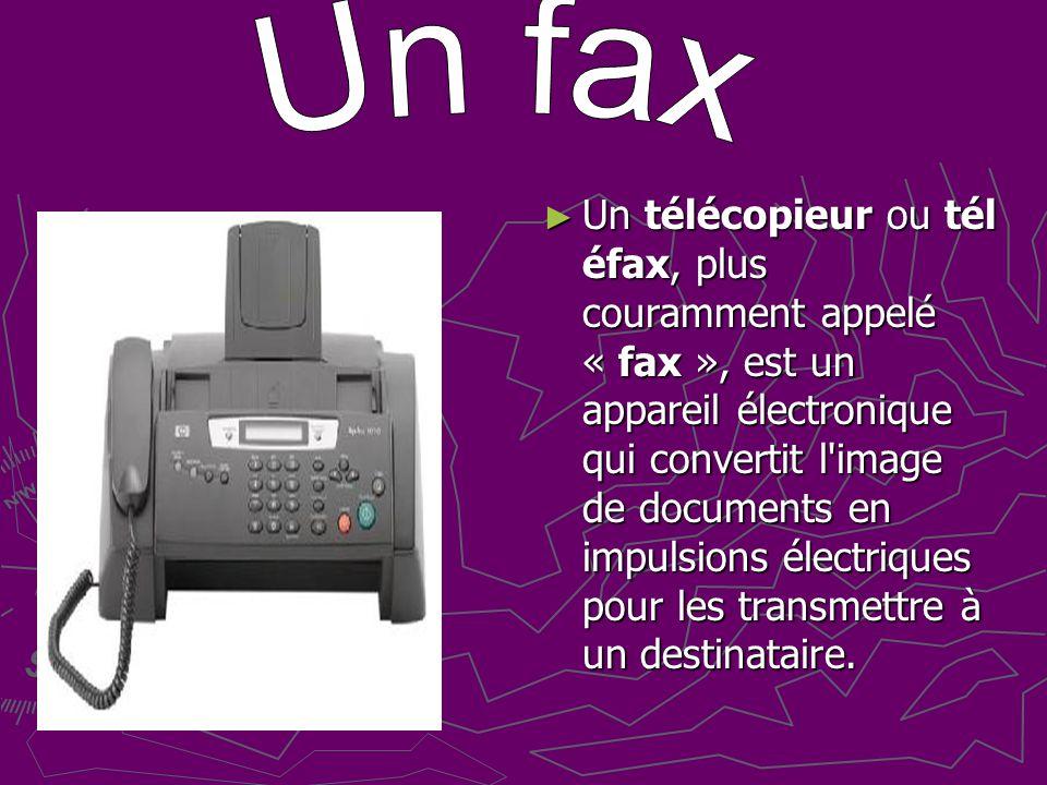 Un fax