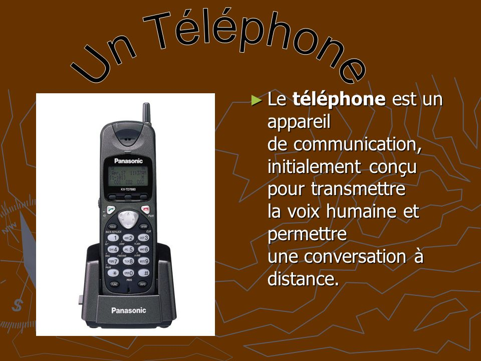 Un Téléphone