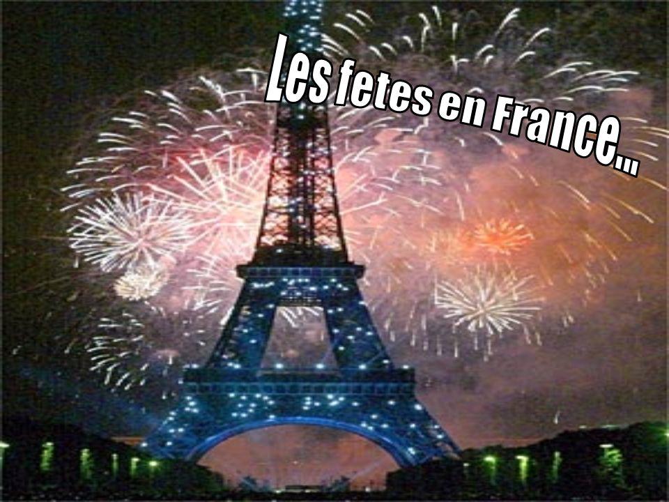 Les fetes en France...