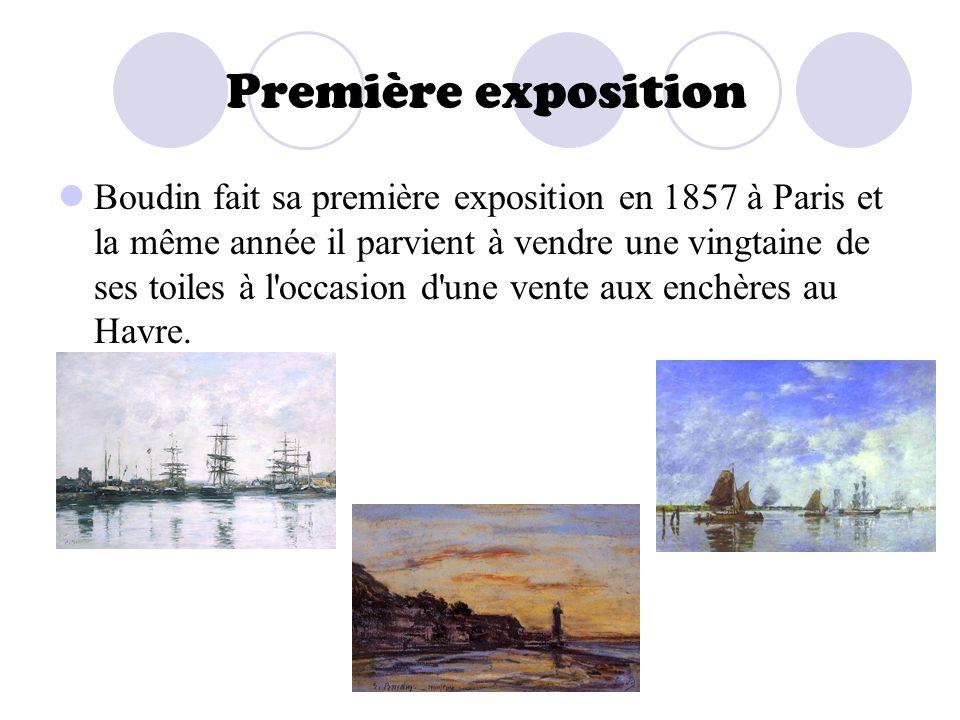 Première exposition