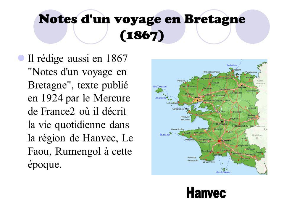 Notes d un voyage en Bretagne (1867)