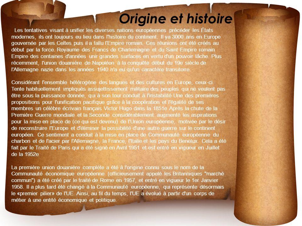 Origine et histoire