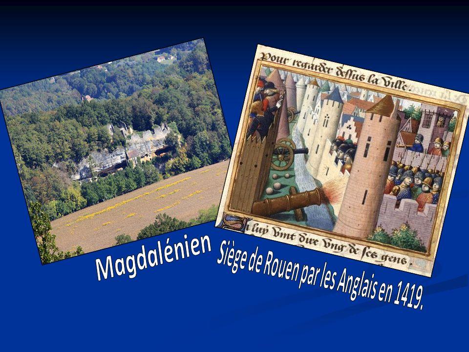 Siège de Rouen par les Anglais en 1419.