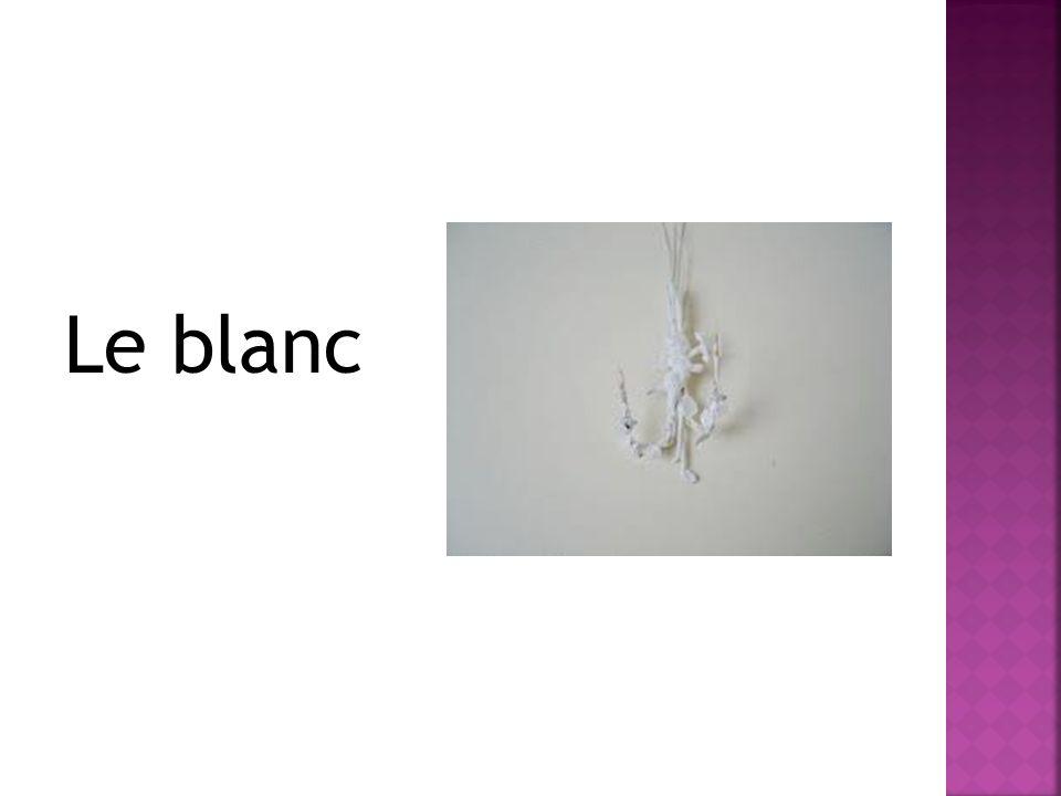 Le blanc