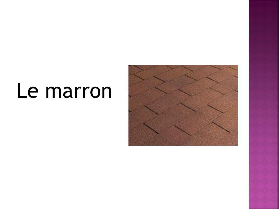 Le marron