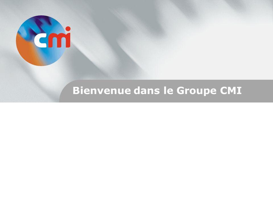 Bienvenue dans le Groupe CMI