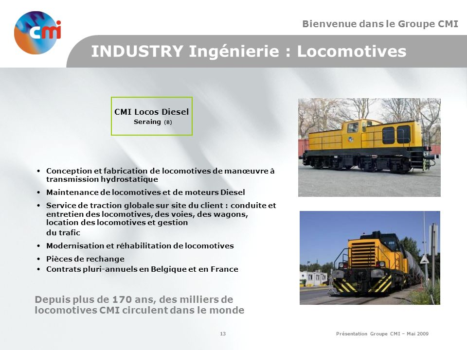 CMI Locos Diesel Seraing (B)