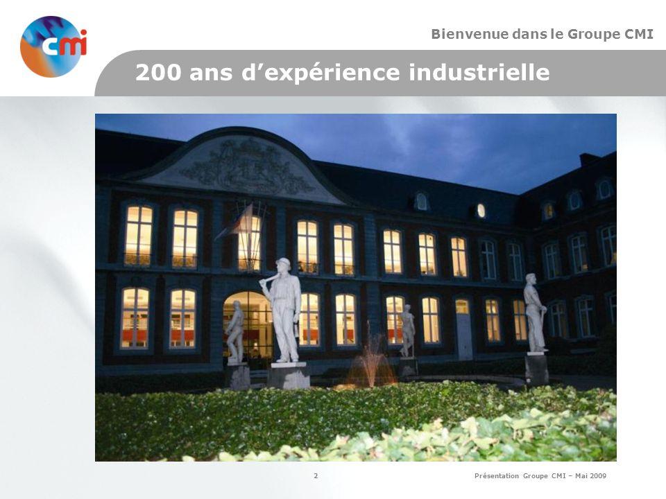 200 ans d'expérience industrielle
