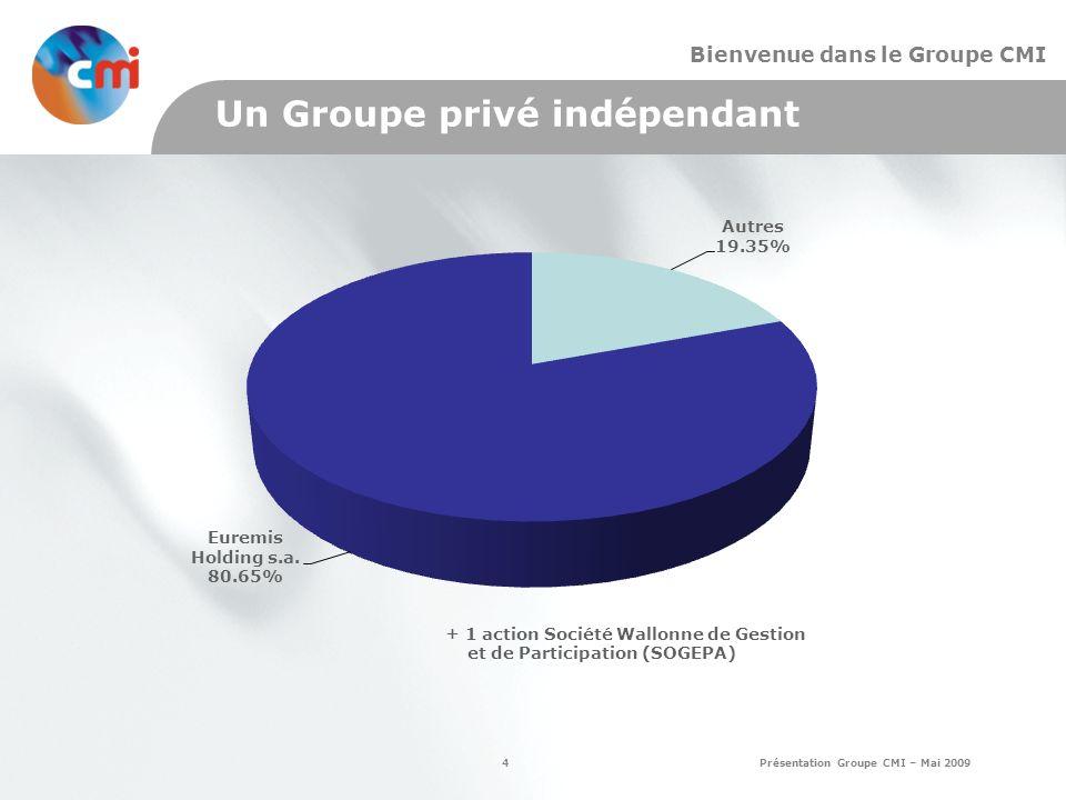 Un Groupe privé indépendant
