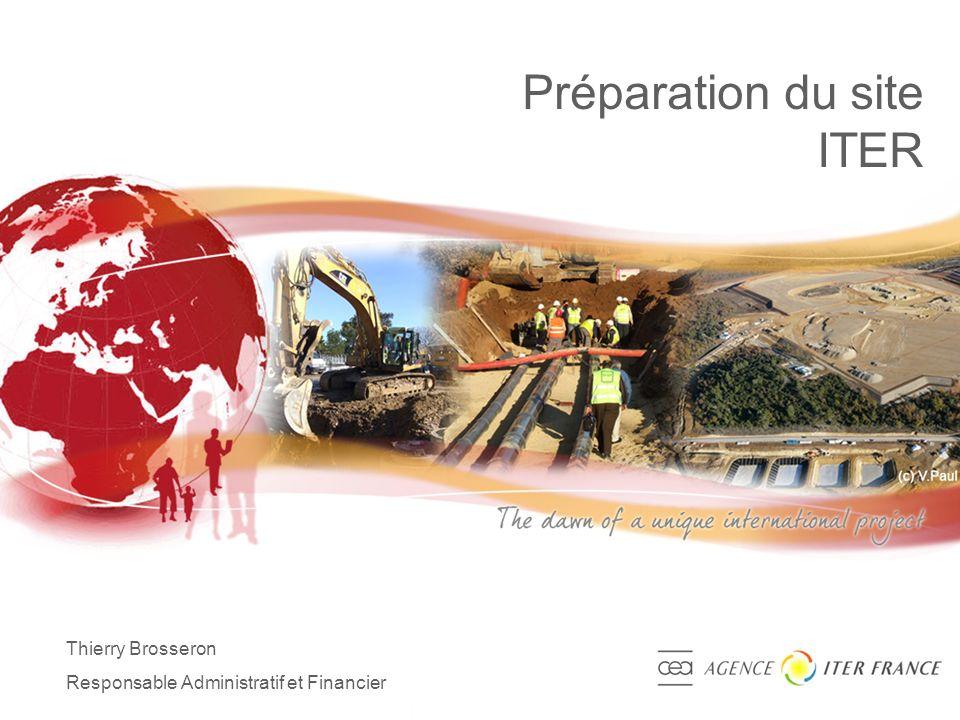 Préparation du site ITER