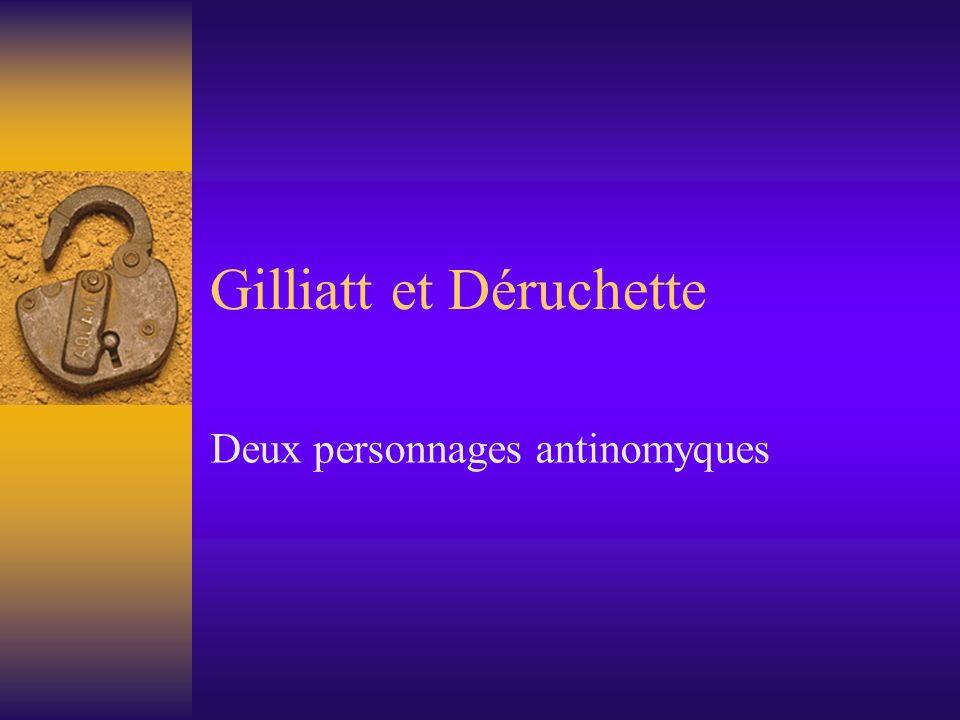 Gilliatt et Déruchette