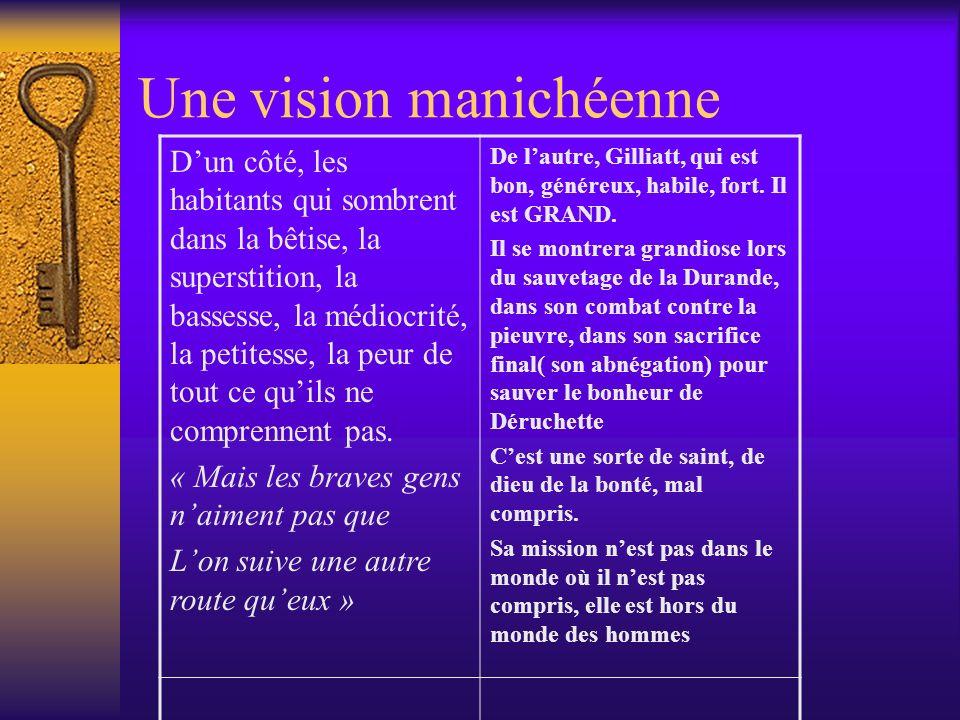 Une vision manichéenne