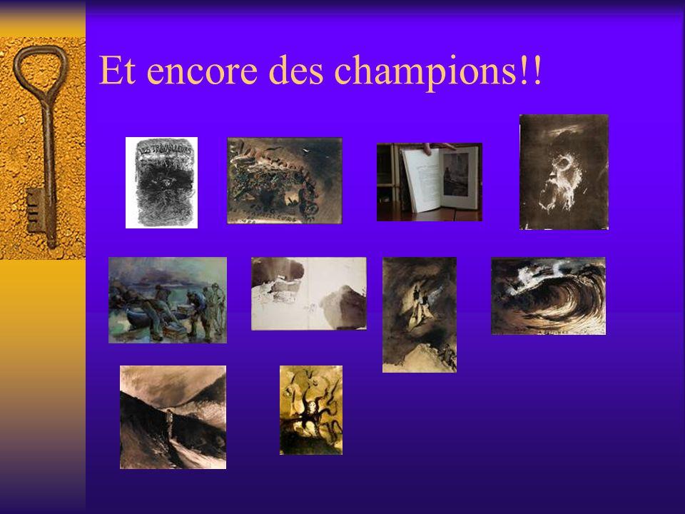 Et encore des champions!!