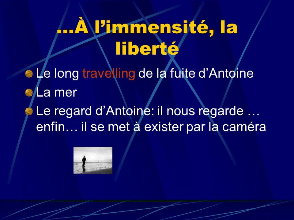 …À l'immensité, la liberté