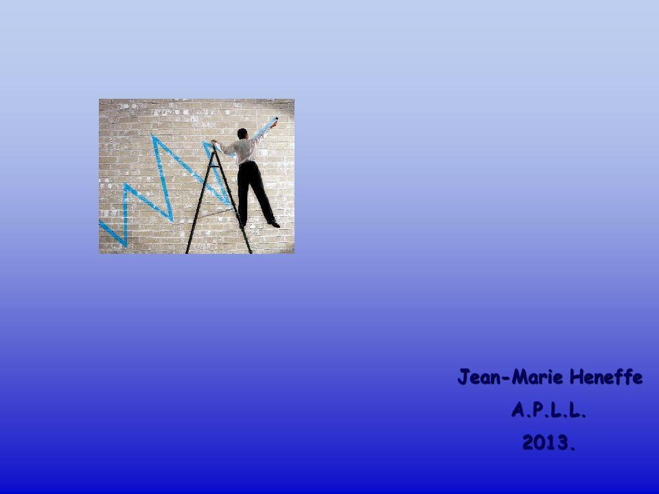 Jean-Marie Heneffe A.P.L.L. 2013.