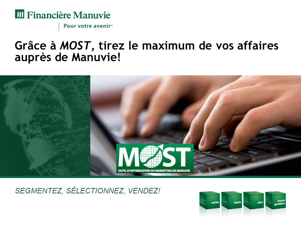 Grâce à MOST, tirez le maximum de vos affaires auprès de Manuvie!