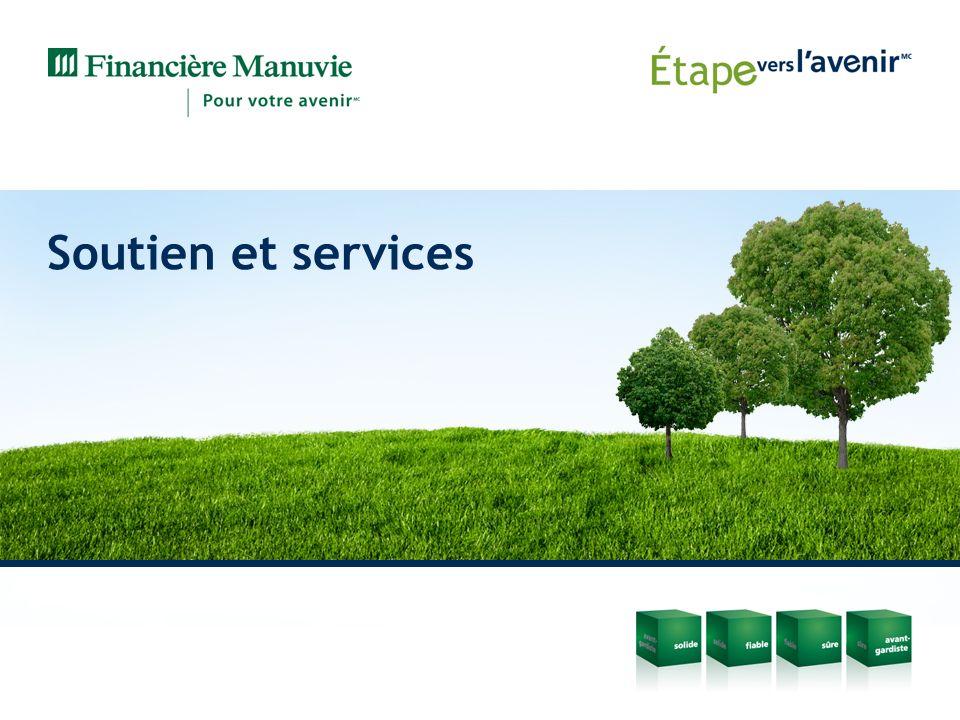 Soutien et services