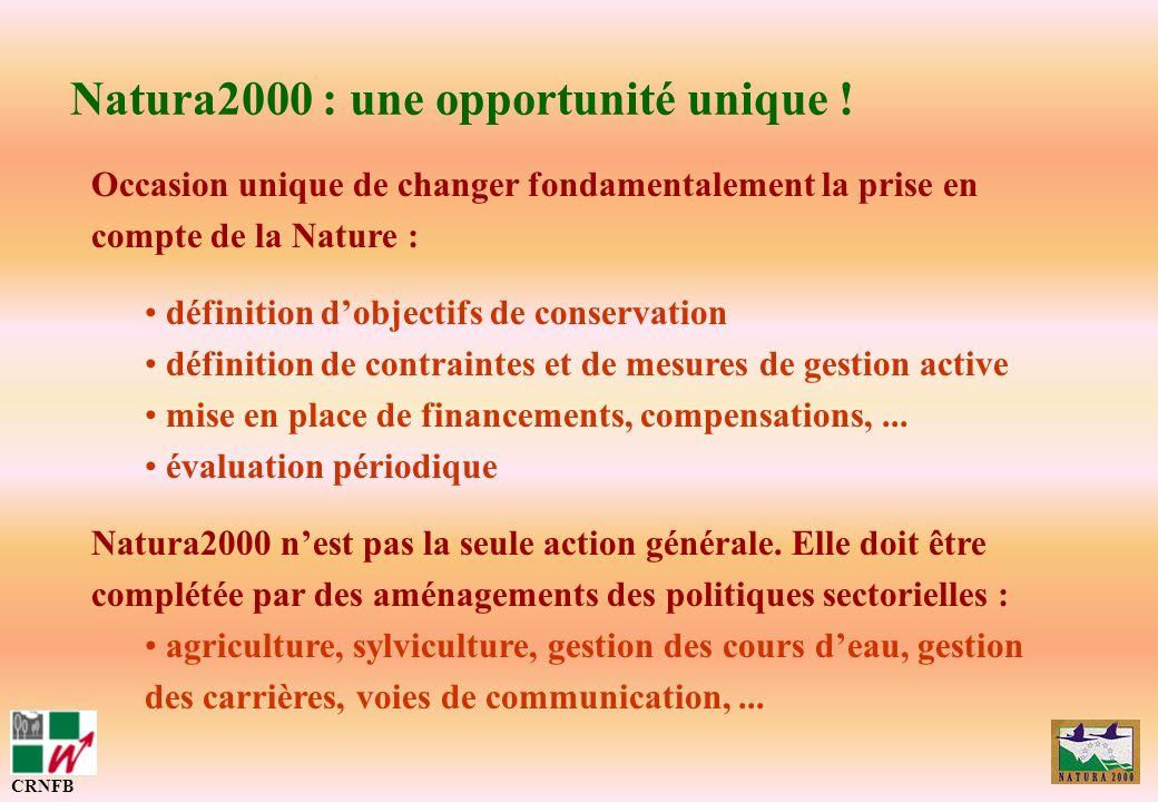 Natura2000 : une opportunité unique !