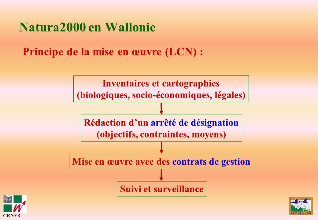 Inventaires et cartographies (biologiques, socio-économiques, légales)