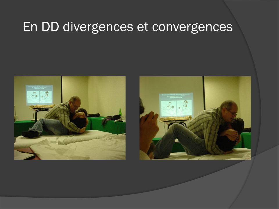 En DD divergences et convergences