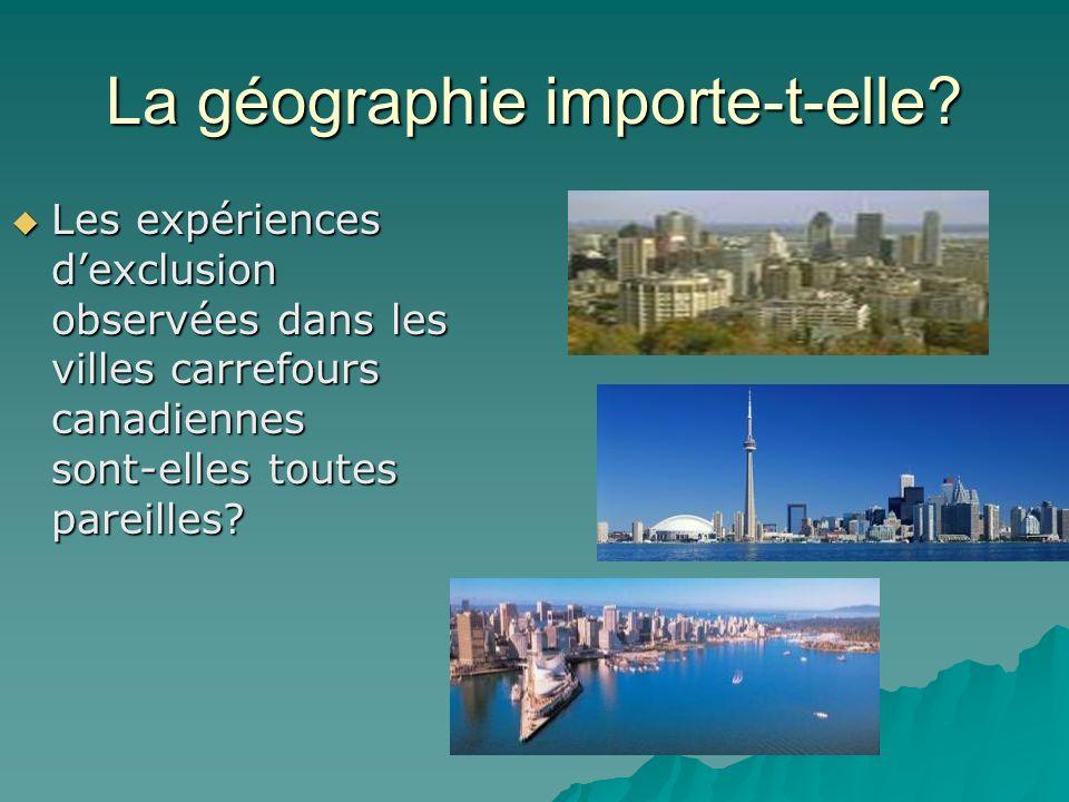 La géographie importe-t-elle