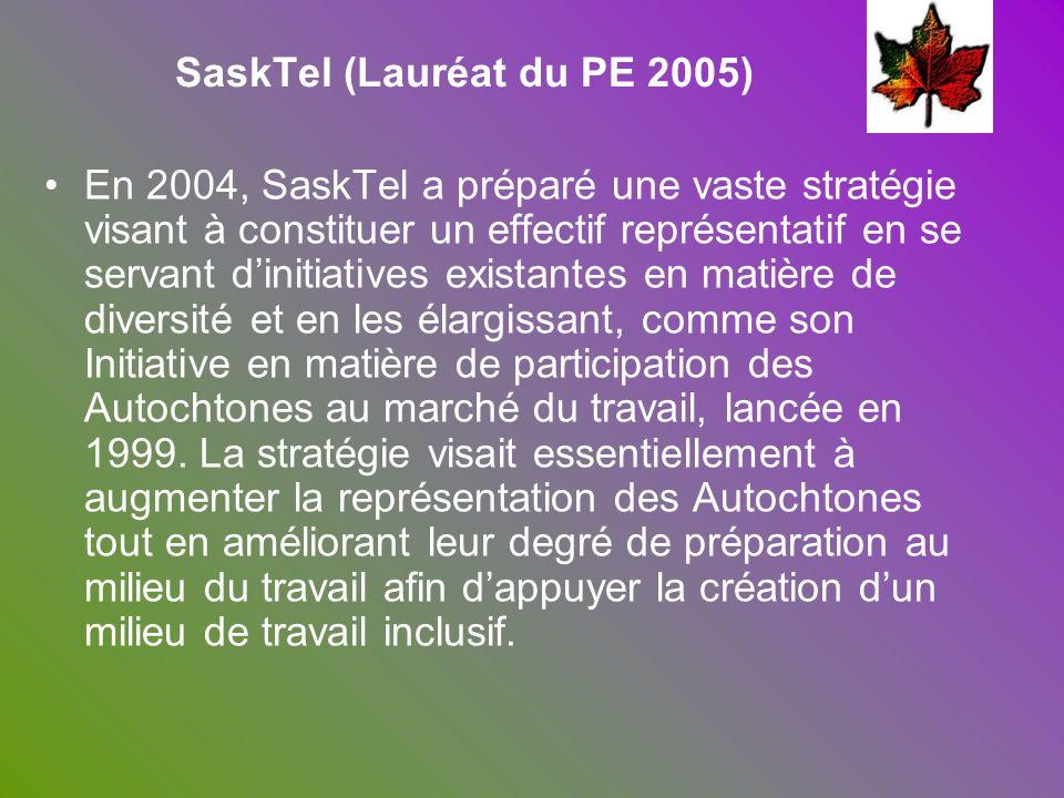 SaskTel (Lauréat du PE 2005)