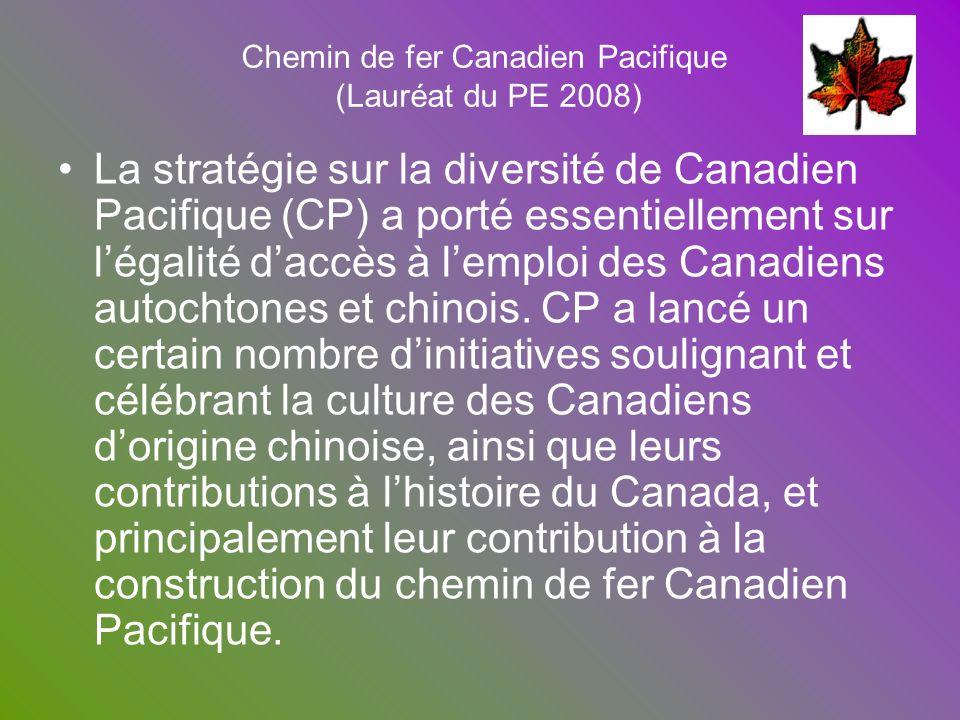 Chemin de fer Canadien Pacifique (Lauréat du PE 2008)