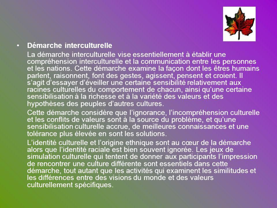 Démarche interculturelle