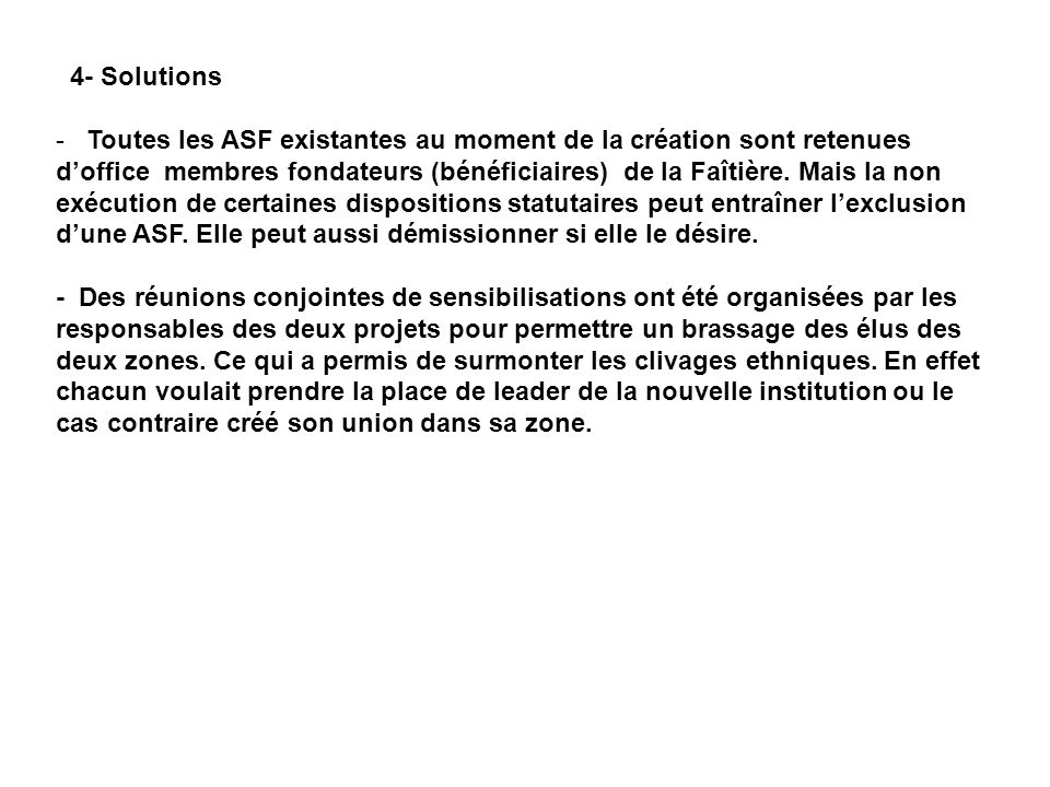 4- Solutions