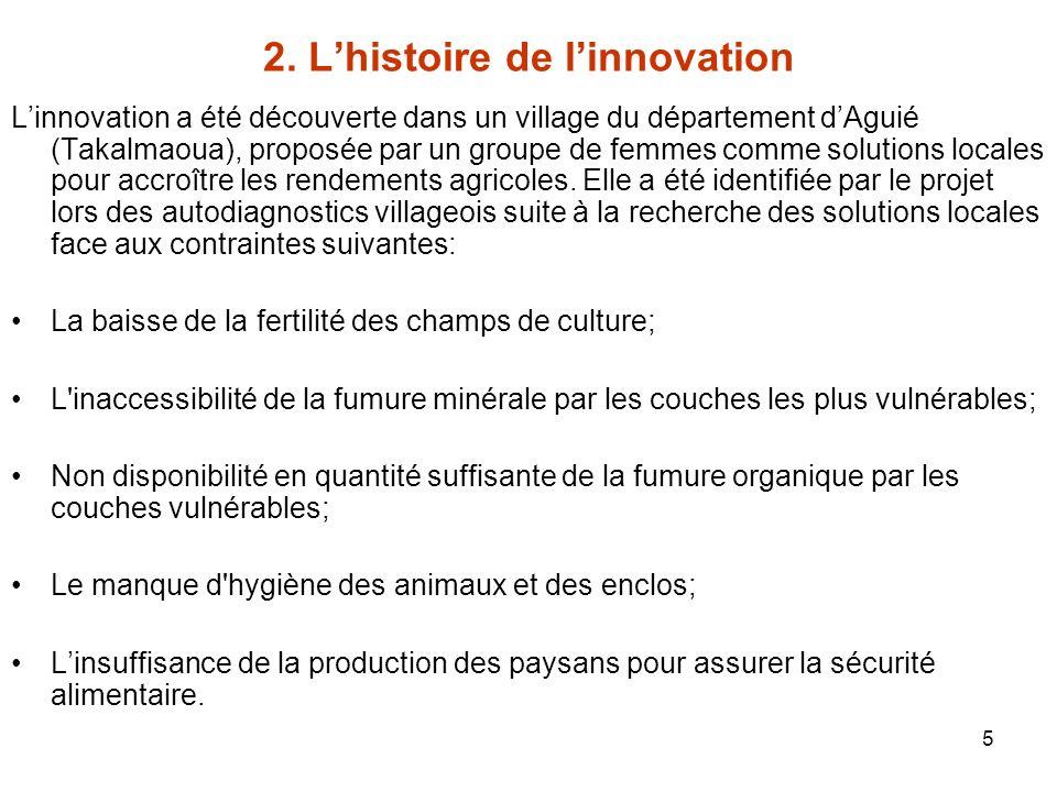 2. L'histoire de l'innovation