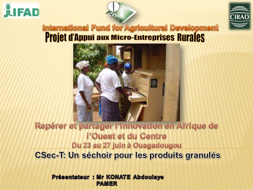 Projet d'Appui aux Micro-Entreprises Rurales